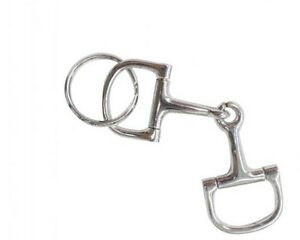 D-Ring Snaffle Keychain