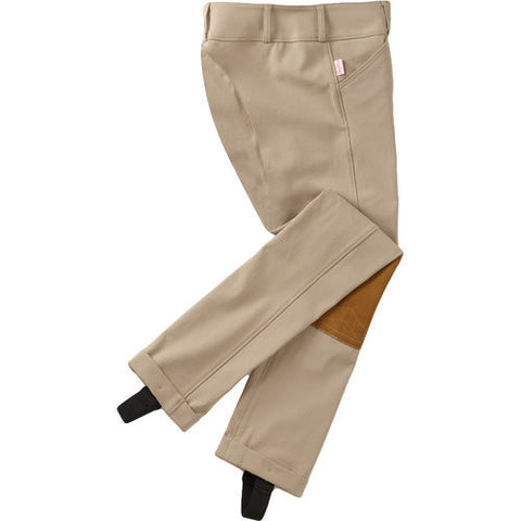 TAILORED SPORTSMAN CHILDRENS JODS LOW RISE BREECHES FRONT ZIP TROPHY HUNTERS