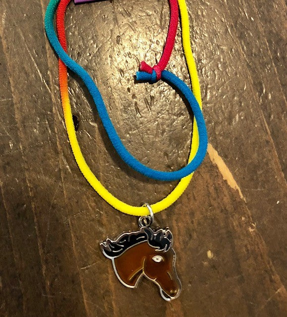 AWST Horse Head Mood Necklace
