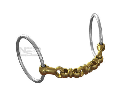 Neue Schule Waterford Loose Ring Snaffle
