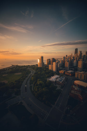 chicago sunrise