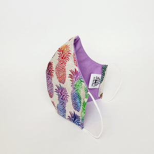 Fabric Face Mask-Pineapple Print