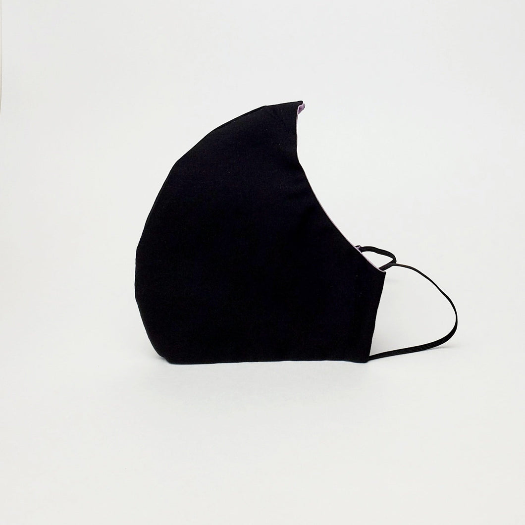 Fabric Face Mask- Black