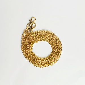 Extra Long Gold Mask Chain