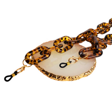 Load image into Gallery viewer, Chunky Acrylic Mask Chain- Tortoise Shell