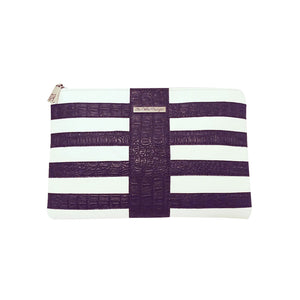 Tee Zipper Clutch