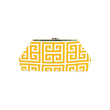Load image into Gallery viewer, Jazz Clasp- Gold Maze Clutch