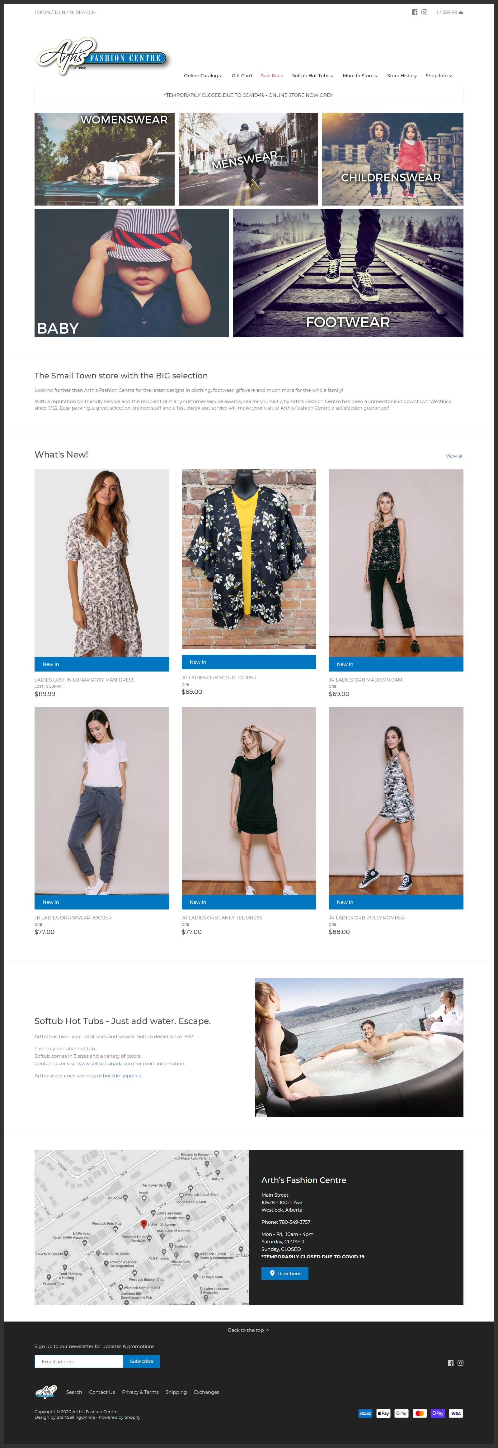 arths shopify design