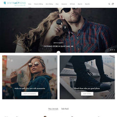 distractions shopify design