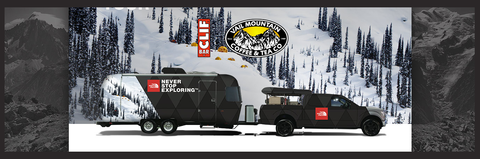 North Face Trailer Banner