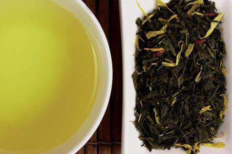 Tangerine Green Sencha | Vail Mountain Coffee and Tea
