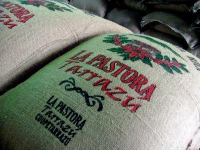 La Pastora bag of coffee beans
