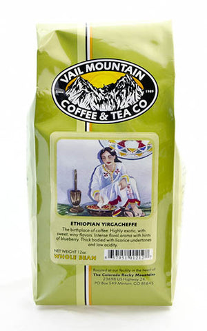 Ethiopian Yirgacheffe - Kochere Grade 1 coffee bag