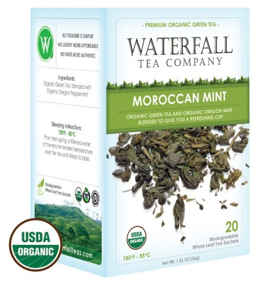 Organic Moroccan Mint box of tea