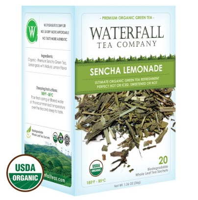 Organic Sencha Lemonade | Green Tea | Vail Mountain Coffee and Tea