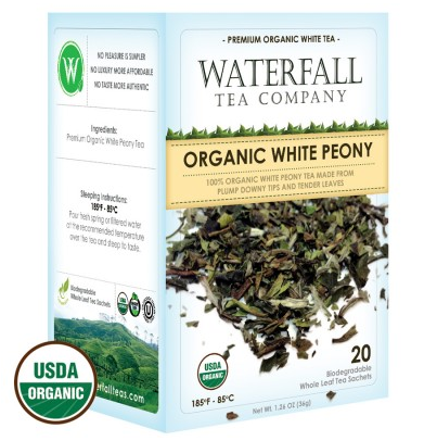 Organic White Peony Tea | Vail Mountain Coffee and Tea