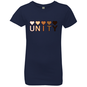 Unity Hearts Girls' Princess T-Shirt