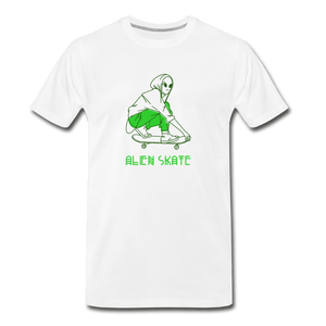 Alien Skate Men's Premium T-Shirt - Fitted Clothing Company