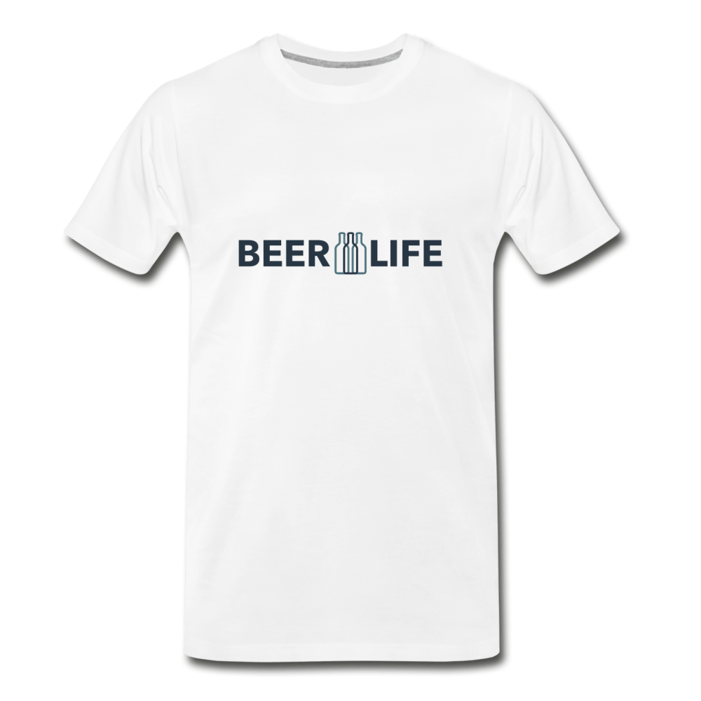 Beer Life Men's Premium T-Shirt - Fitted Clothing Company