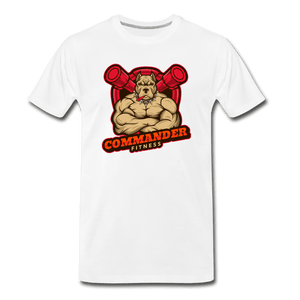 Commander Fitness Men's Premium T-Shirt - Fitted Clothing Company