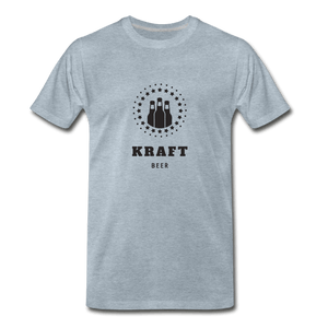 Kraft Beer Men's Premium T-Shirt - Fitted Clothing Company