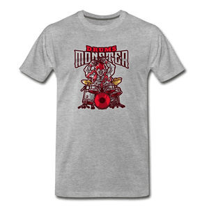 Drum Monster Men's Premium T-Shirt - Fitted Clothing Company