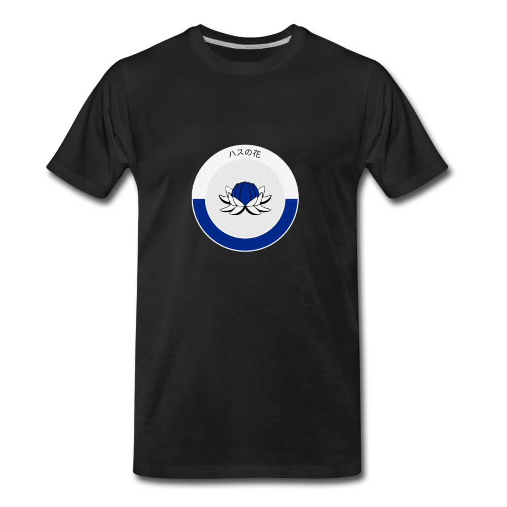 Blue Lotus Men's Premium T-Shirt - Fitted Clothing Company