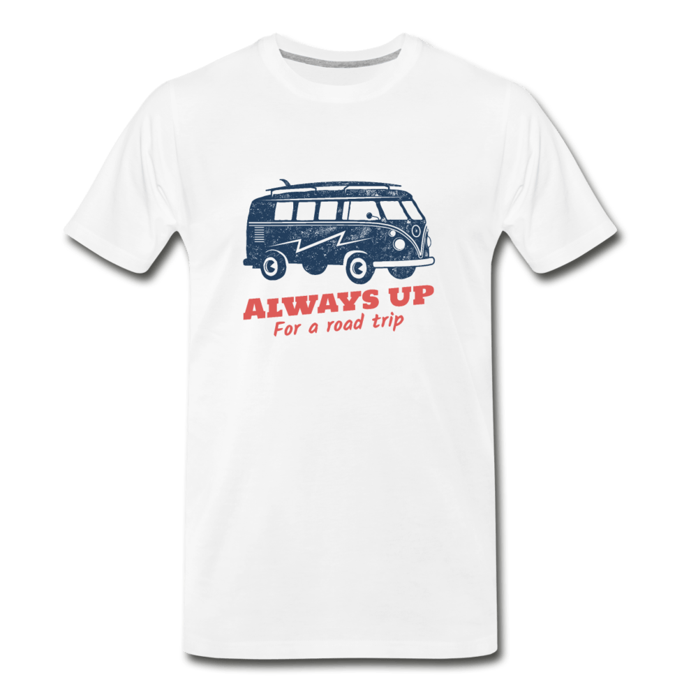 Always Up Men's Premium T-Shirt - Fitted Clothing Company
