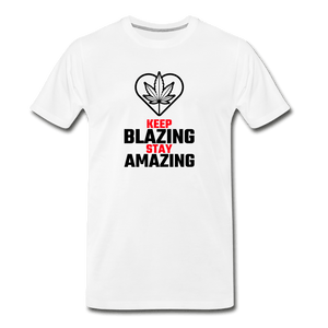 Keep Blazing Men's Premium T-Shirt - Fitted Clothing Company
