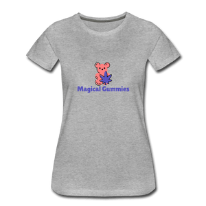 Medical Gummies Women's Premium T-Shirt - Fitted Clothing Company