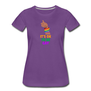 Its Ok Women's Premium T-Shirt - Fitted Clothing Company