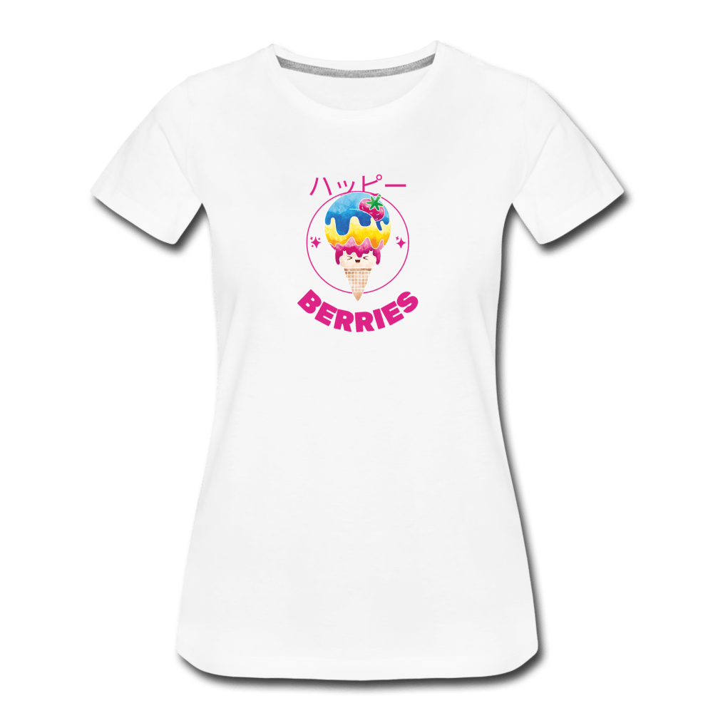 Berries Women's Premium T-Shirt - Fitted Clothing Company