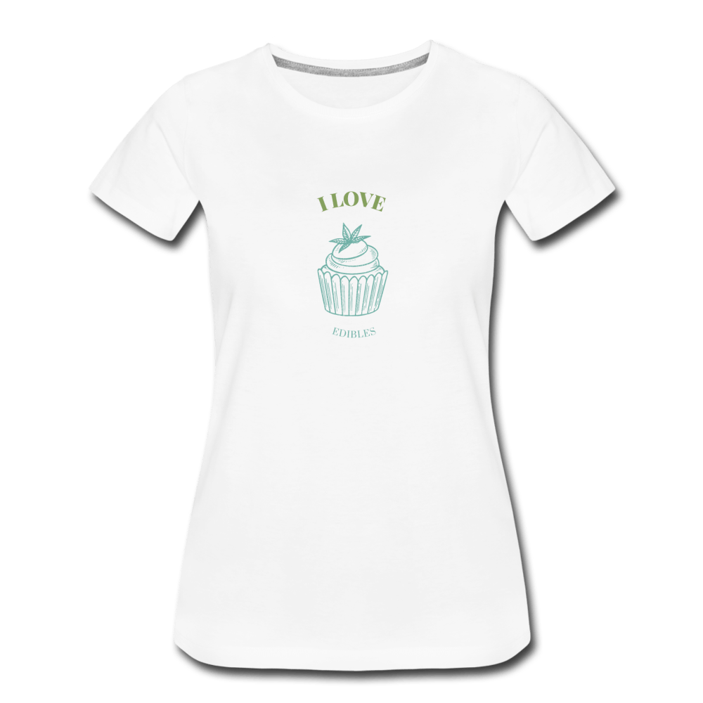 Edibles Women's Premium T-Shirt - Fitted Clothing Company