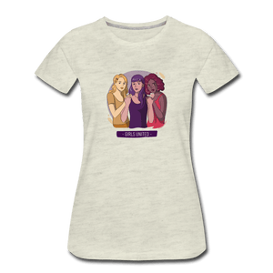 Girls United Women's Premium T-Shirt - Fitted Clothing Company