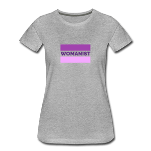 Womanist Flag II Women's Premium T-Shirt - Fitted Clothing Company