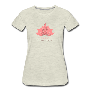 Yogo First Women's Premium T-Shirt - Fitted Clothing Company