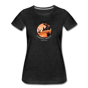 Guardian Dragon Women's Premium T-Shirt - Fitted Clothing Company
