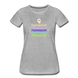Feminism II Women's Premium T-Shirt - Fitted Clothing Company
