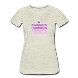 Feminism III Women's Premium T-Shirt - Fitted Clothing Company