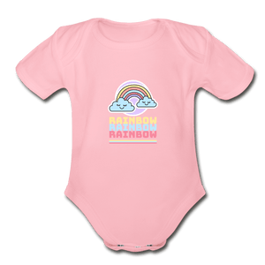 Rainbow Organic Baby Onesie - Fitted Clothing Company