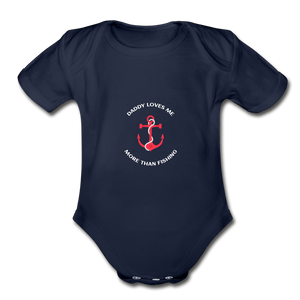 More than Fishing Organic Baby Onesie - Fitted Clothing Company