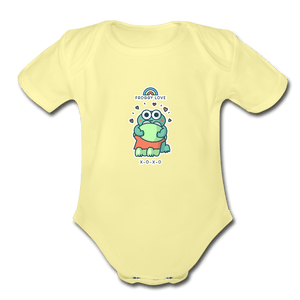 Froggy Love Organic Baby Onesie - Fitted Clothing Company