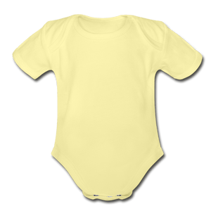 Solid Organic Baby Onesie - Fitted Clothing Company