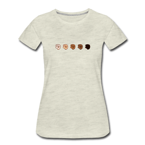 U Fist Women's Premium T-Shirt - Fitted Clothing Company