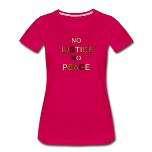 U NJNP Women's Premium T-Shirt - Fitted Clothing Company