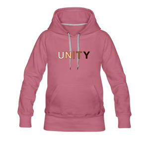 Unity Women's Premium Hoodie - Fitted Clothing Company