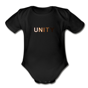 Unity Organic Short Sleeve Baby Bodysuit - Fitted Clothing Company