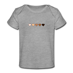 U Hearts Organic Baby T-Shirt - Fitted Clothing Company