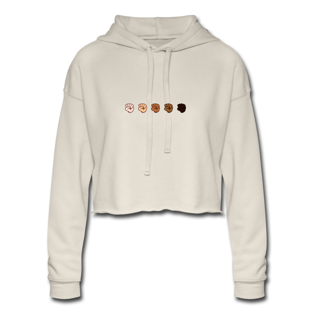 U Fist Women's Cropped Hoodie - Fitted Clothing Company