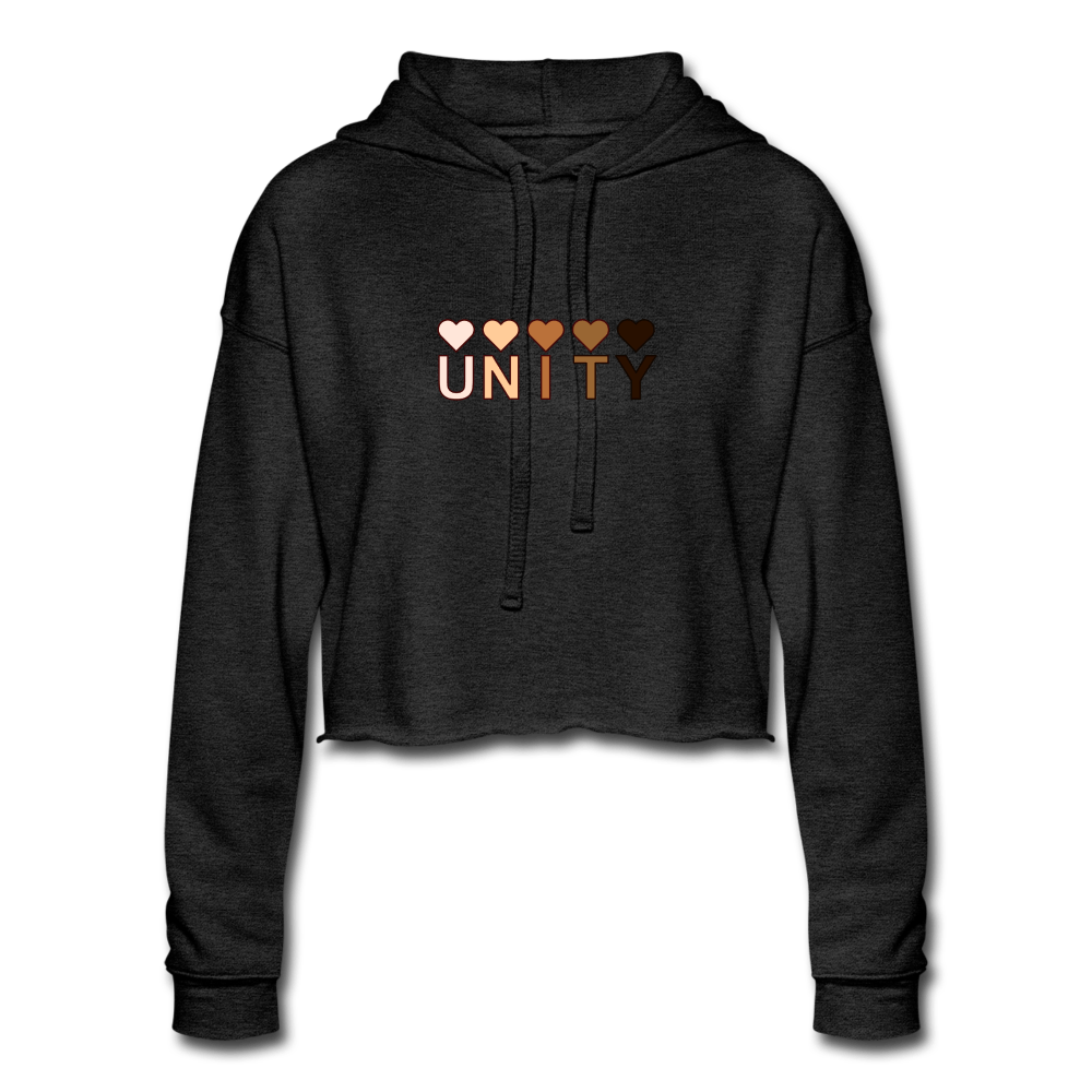 Unity Hearts Women's Cropped Hoodie - Fitted Clothing Company
